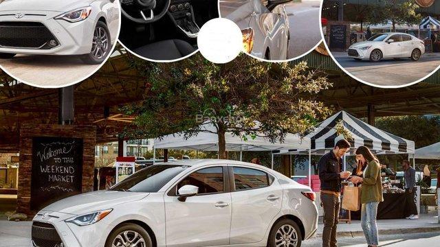 Đánh giá xe Toyota Yaris sedan 2019 bản Mỹ
