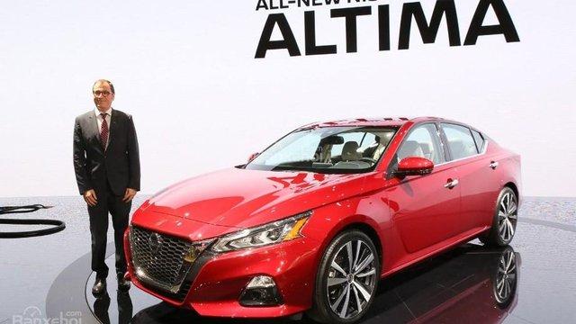 Đánh giá xe Nissan Altima 2019 (Nissan Teana)