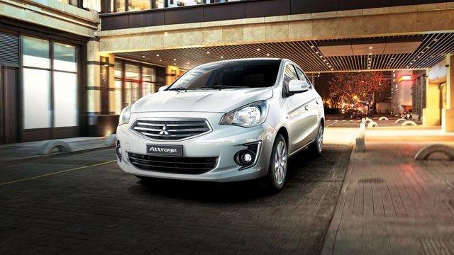 Đánh giá xe Mitsubishi Attrage 2018 CVT