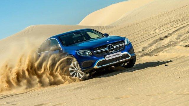 Đánh giá xe Mercedes-Benz GLC 300 4MATIC Coupe 2018 giá 2.899 tỷ đồng