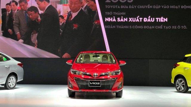 Đánh giá xe Toyota Vios 2019 1.5G CVT tại Việt Nam