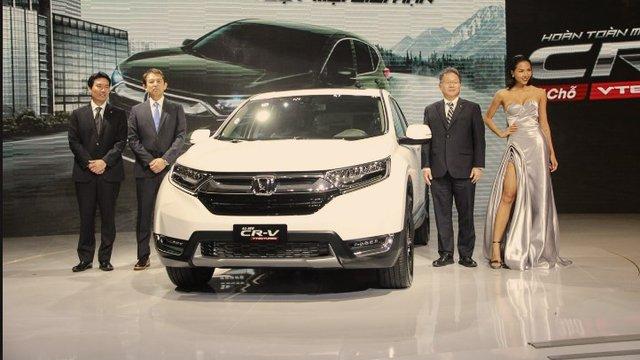 Đánh giá xe Honda CR-V 2018 cấu hình 7 chỗ