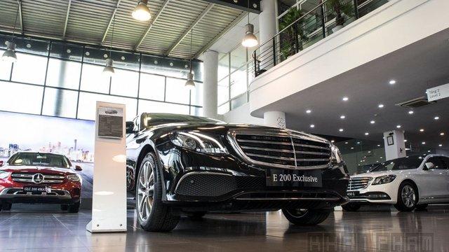 Đánh giá xe Mercedes-Benz E 200 Exclusive 2020 vừa ra mắt Việt Nam