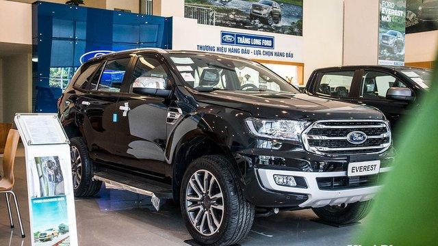 Đánh giá xe Ford Everest 2020: Nâng cấp nhẹ, giá bán không đổi