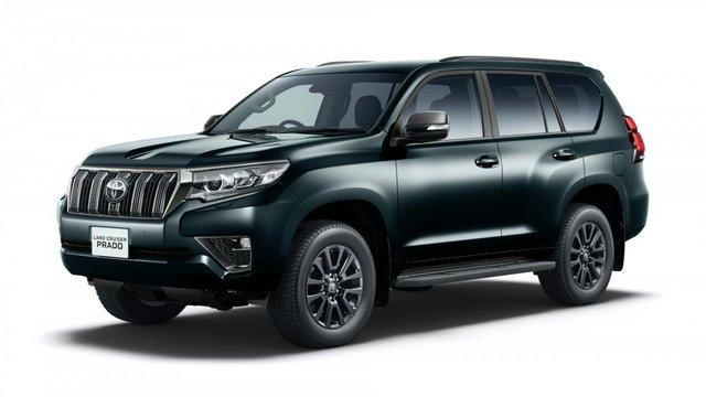 Toyota Land Cruiser Prado 2020 nâng cấp động cơ, thêm bản 'full đen'