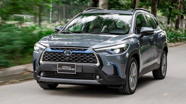 Thông số kỹ thuật xe Toyota Corolla Cross 2020