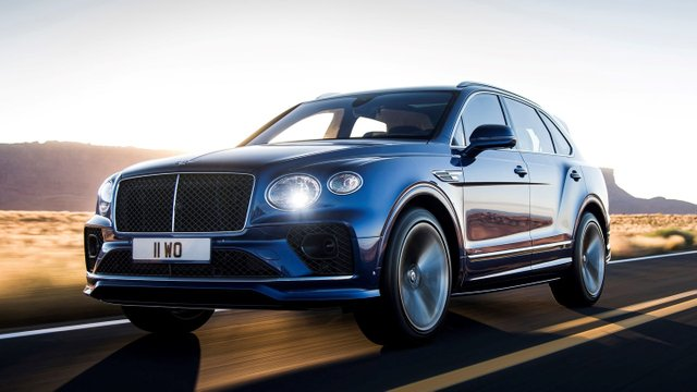 SUV siêu sang Bentley Bentayga Speed 2021 ra mắt