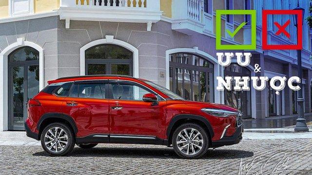 Ưu nhược điểm xe Toyota Corolla Cross 2020 1.8V mới bán tại Việt Nam