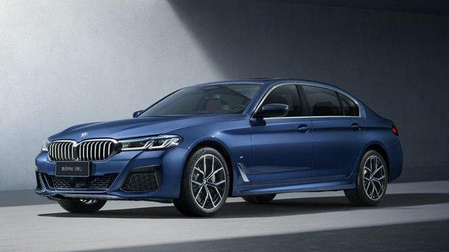 BMW 5-Series 2021 thêm bản trục cơ sở dài