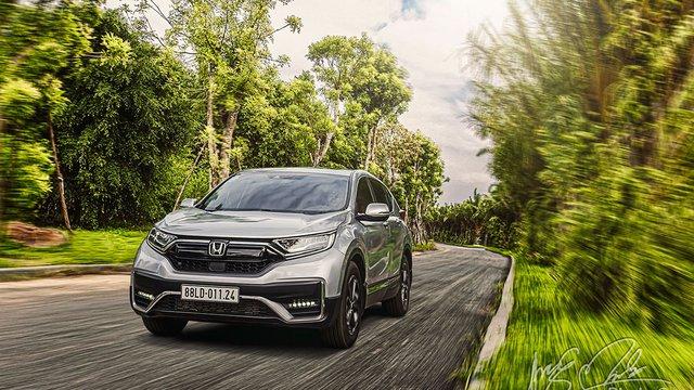 Đánh giá xe Honda CR-V L 2020-2021 bản cao cấp nhất tại Việt Nam