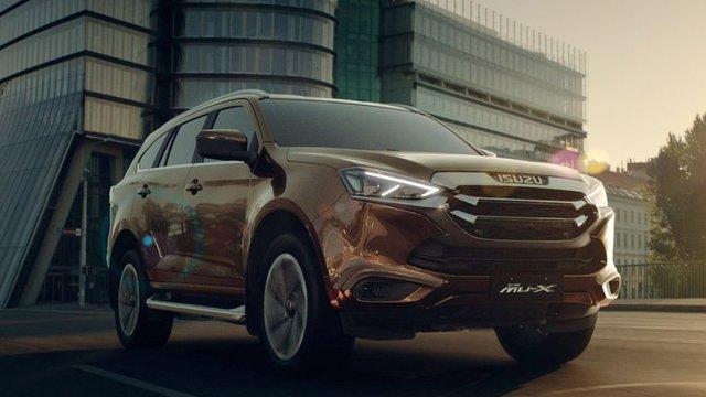 Đánh giá xe Isuzu mu-X 2021 thế hệ mới