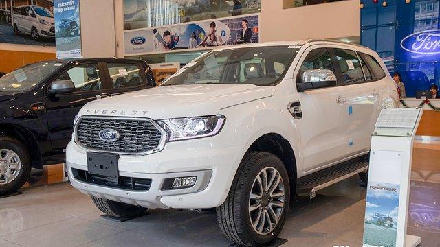 Đánh giá xe Ford Everest 2021 mới về Việt Nam: Được ít, mất nhiều