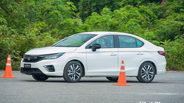 Đánh giá xe Honda City 2021 phiên bản RS: Vượt tầm phân khúc