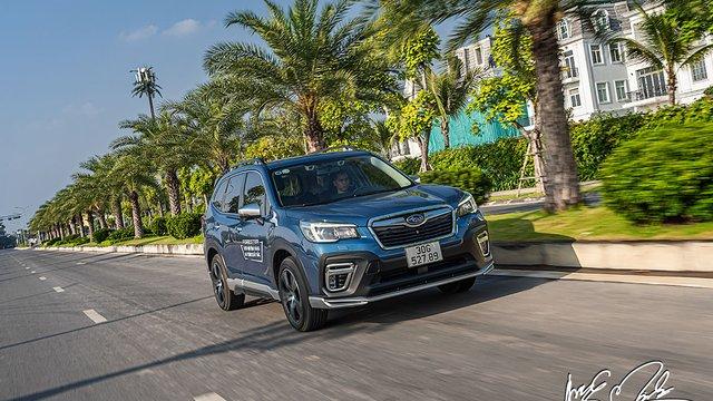 Đánh giá xe Subaru Forester 2021: Đề cao giá trị vận hành và an toàn