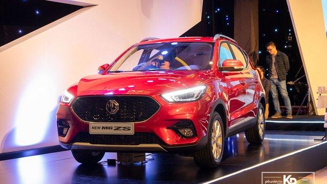 Đánh giá nhanh xe MG ZS 2021: Nhiều nâng cấp đáng giá, Kia Seltos cần dè chừng