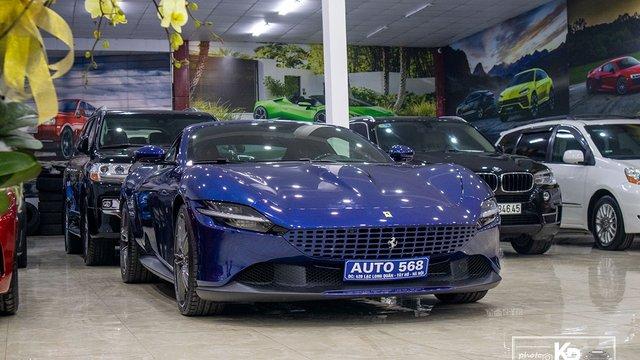Đánh giá xe Ferrari Roma 2021 độc nhất Việt Nam: Siêu xe khác biệt của Ferrari