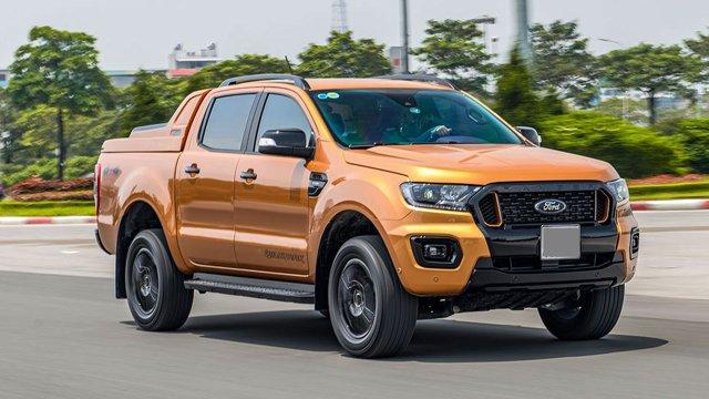 """Đánh giá xe Ford Ranger Wildtrak 2021: Xe lắp ráp """"chất"""" nhập khẩu"""