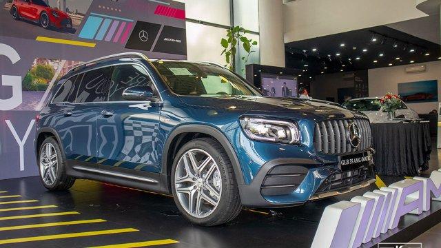 Đánh giá xe Mercedes-AMG GLB 35 4MATIC 2021 vừa về đại lý: Chiếc SUV 7 chỗ nhanh nhất hiện nay
