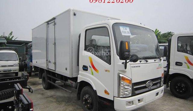 Bán xe tải Veam 3.5 tấn thùng dài 5m, động cơ Hyundai, Cabin Isuzu