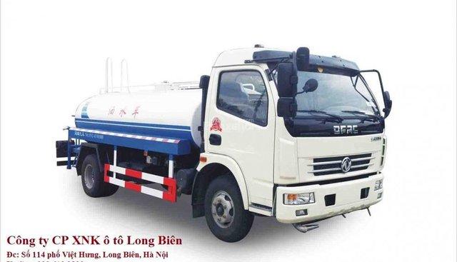 Bán xe Dongfeng tưới nước rửa đường 5 khối (m3)