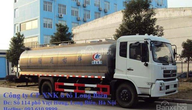 Bán xe xitec chở dầu ăn Hino 2019