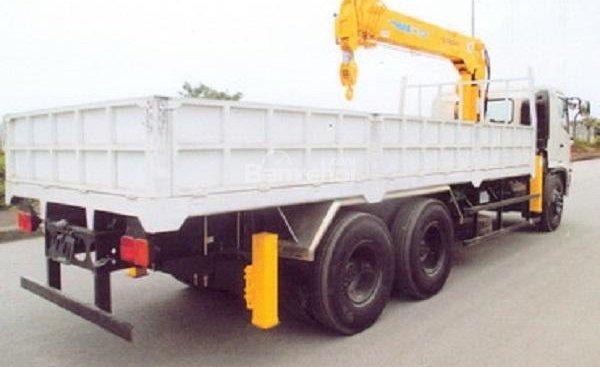 Bán xe cẩu 5 tấn Hino thùng siêu dài Model FL8JTSL