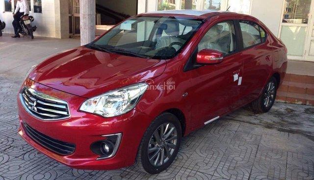 Bán Mitsubishi Attrage CVT 2018, màu đỏ, nhập khẩu Thái, trả góp, giao ngay, 425 tr - LH 0911373343