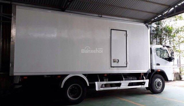 Bán xe tải Fuso Fi 7 tấn thùng kín bảo ôn, thùng đông lạnh tải trọng 7 tấn