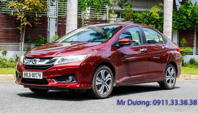 Bán Honda City model 2017 tại Hà Tĩnh với mức giá thấp nhất
