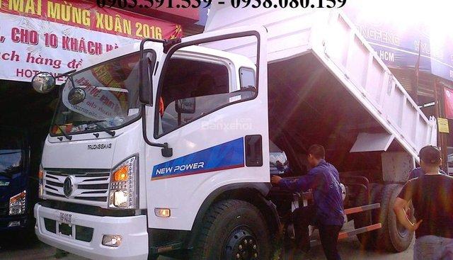 Bán xe ben Dongfeng 9.2 tấn đời mới, hỗ trợ trả góp toàn quốc khi mua xe ben Dongfeng 9.2T