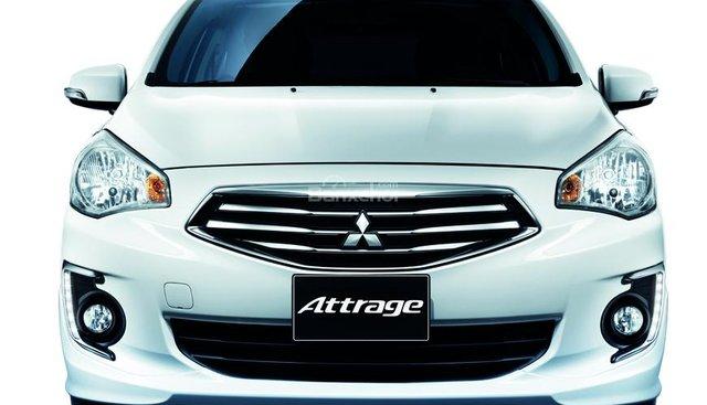 Bán xe Mitsubishi Attrage 2018, khuyến mãi cực tốt, hỗ trợ trả góp 80%, giá chỉ 460 triệu