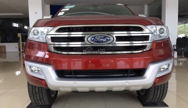Bán ô tô Ford Everest 2.0L 4x2 Titanium AT mới 100%, hỗ trợ trả góp, giá cả thương lượng