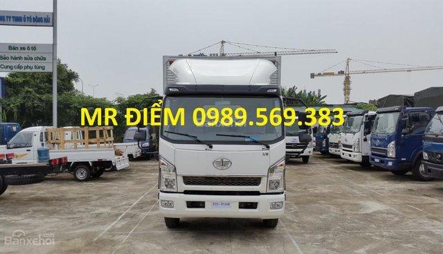 Bán FAW tải thùng 7.25 tấn, nhập khẩu, khuyến mãi dầu và thuế