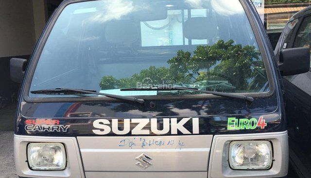 Bán Suzuki Super Carry Truck đời 2018 màu xanh đen- Euro 4 - giao xe ngay - liên hệ 0906612900