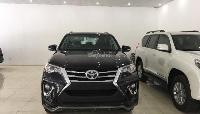 Bán Toyota Fortuner 2.4G 4x2MT 2017, màu đen, nhập khẩu nguyên chiếc (có xe giao ngay) - LH: 0918698468