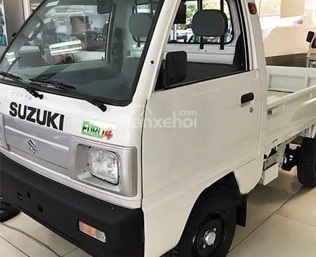 Cần bán Suzuki Super Carry Truck đời 2018, tặng ngay 100% thuế trước bạ, màu trắng, hỗ trợ phí trước bạ