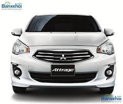 Bán Mitsubishi Attrage đời 2019, màu trắng, nhập khẩu chính hãng, giá tốt nhất Miền Trung