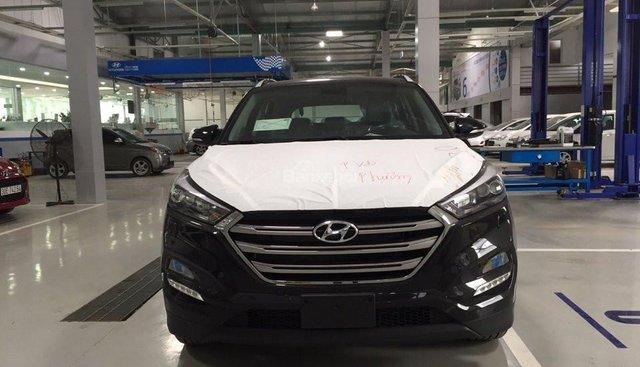 Bán xe Hyundai Tucson Limited 2.0 AT AWD sản xuất 2018, màu đen