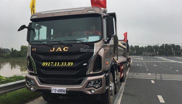 Bán xe tải Ben JAC 4 chân, tải trọng cao