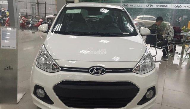 Bán xe Hyundai Grand i10 đời 2018, giá 330tr, hỗ trợ vay mua trả góp 80% giá trị xe