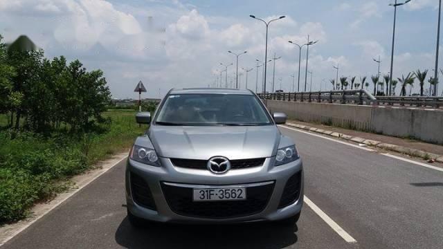 Cần bán gấp Mazda CX 7 sản xuất 2010, màu bạc, nhập khẩu nguyên chiếc
