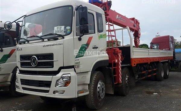 Bán xe tải Dongfeng gắn cẩu Unic 17T9, trả góp 90% toàn quốc