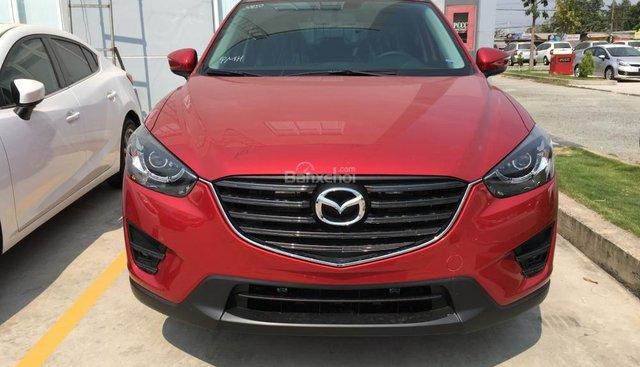 Bán xe Mazda CX 5 2017, màu đỏ, giá ưu đãi, xe giao ngay, trả góp tối đa, hỗ trợ đăng ký đăng kiểm - 0938 900 820