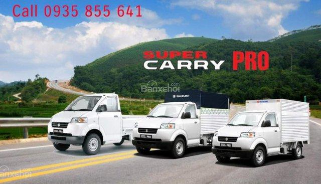 Bán Suzuki Super Carry Pro, màu trắng, xe nhập 2018