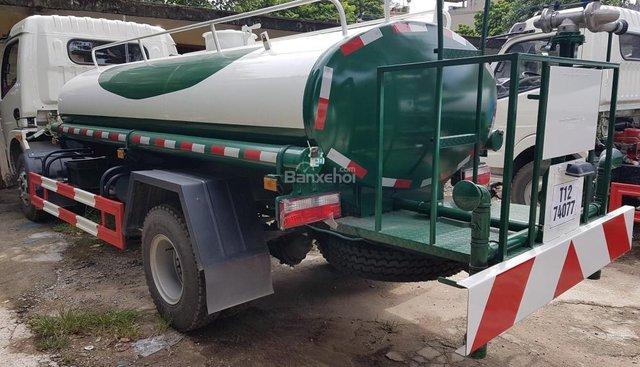 Bán xe rửa đường Dongfeng 5 khối, xe phun nước tưới cây 5 khối
