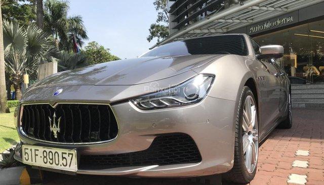Bán Maserati Ghibli đời 2018, màu bạc, nhập khẩu