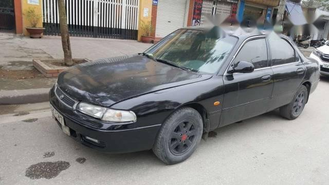 Bán xe Mazda 626 năm 1996, màu đen, giá chỉ 75 triệu