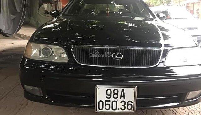 Bán xe Lexus GS 300 đời 1995, màu đen, nhập khẩu