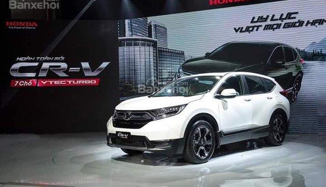 Bán Honda CRV 2018 giá sốc, xe giao tháng 1 hỗ trợ ngân hàng 85%. LH: 0908999735