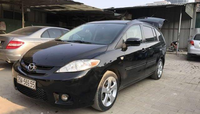Bán gấp Mazda 5 đời 2008, màu đen, xe nhập
